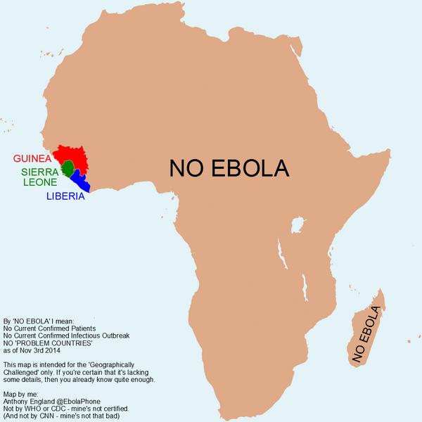 no ebola