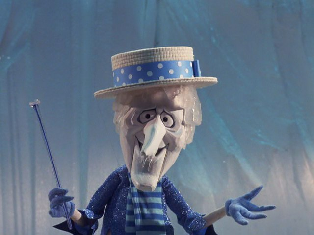 Am I wrong or does Snow Miser look a little like B's boss's, boss's, boss...