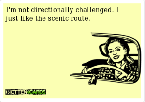 Directionally-Challenged