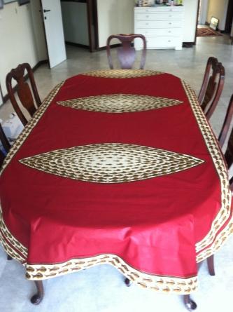 Table cloth Christmas present